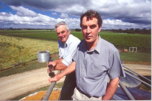 Malcolm and Colin Campbell; Owners, winemaker
