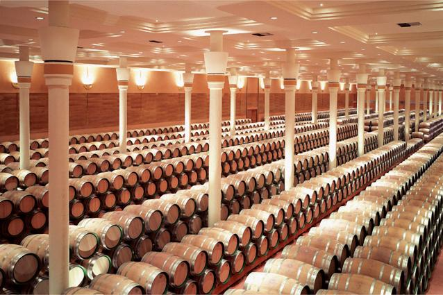 Finca Valpiedra Wine Cellar