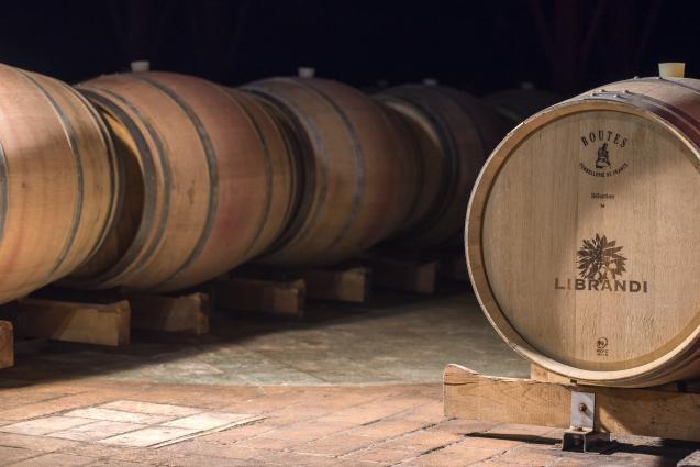 Librandi Wine Barrels