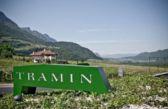 Tramin Winery Sign