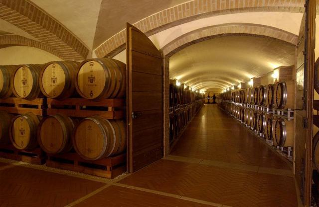 Zenato Wine Cellar