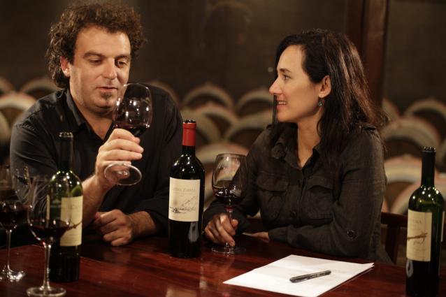 Alejandro Vigil (Chief Winemaker) and Laura Catena Tasting