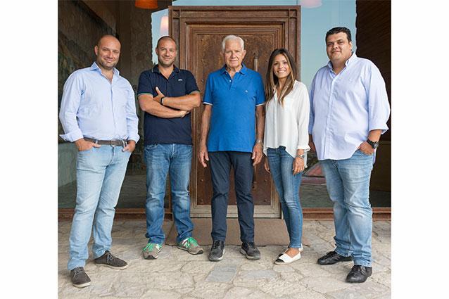 The Librandi Family, Raffaele, Paolo, Nicodemo, Teresa, Francesco