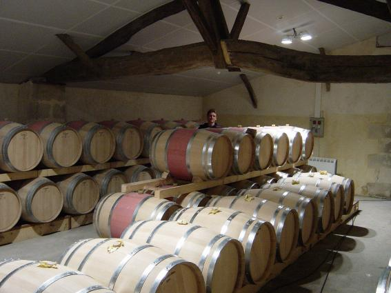 Domaine de Courteillac Barrel Cellar