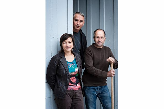 Nathalie, Olivier, and Jean-Paul Tollot