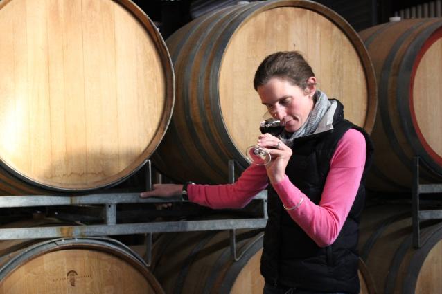 Winemaker Jules Campbell
