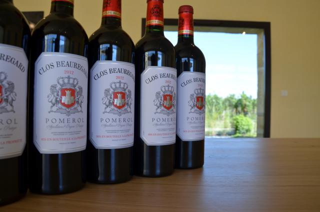 Clos Beauregard Bottles