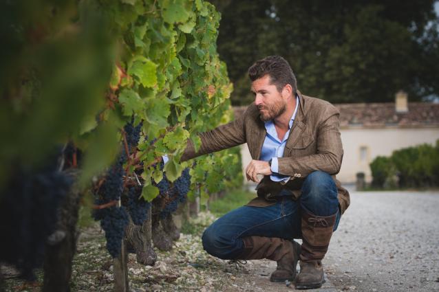 Winemaker Nicolas Audebert