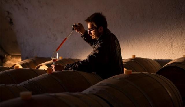 Winemaker Matthew Argyros
