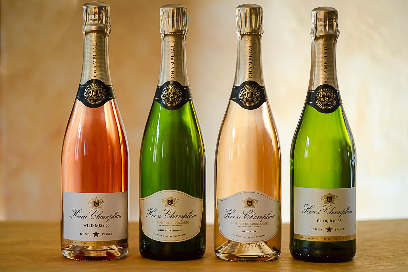 Henri Champliau wine range